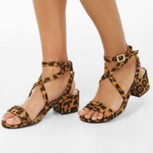 Cheetah Heels NWOT